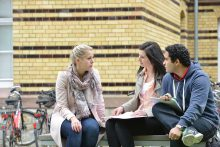 Fotos für die Georg-August-Universität Göttingen  Campus QPLUS und Göttingen International  Einverständniserklärungen aller Personen auf den Bildern liegen vor!