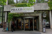 Die Praxisbörse im ZHG der Universität Göttingen im jahr 2014.
