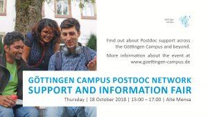 Post doc information fair