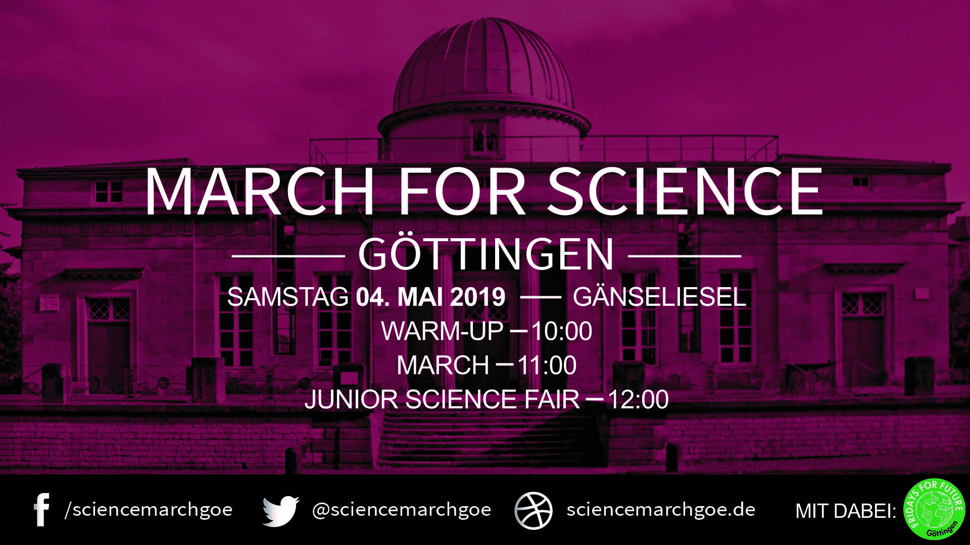 March For Science Göttingen