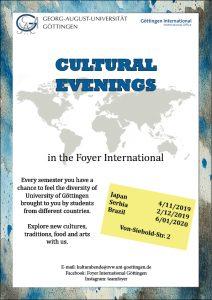 Cultural Evenings