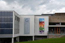 Bild des Sportzentrums am Institut für Sportwissenschaften.